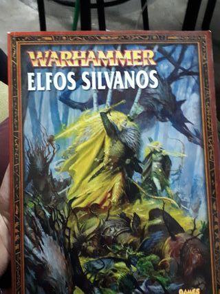 libro sexta edicion elfos silvanos warhammer f.
