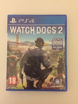 Watch Dogs 2 juego ps4