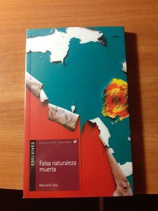 libro falsa naturaleza muerta