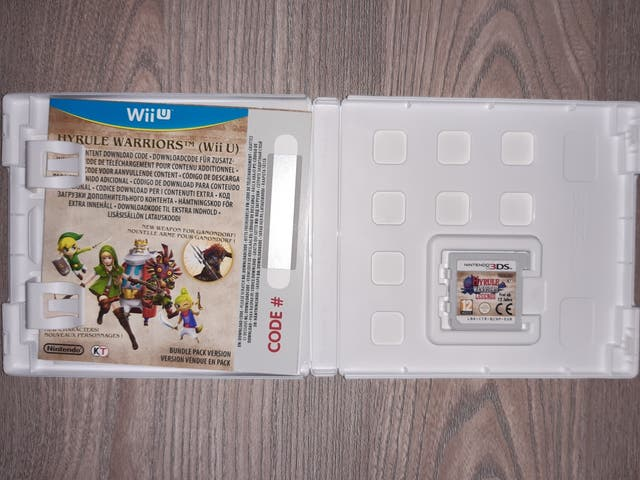 Hyrule Warriors 3ds