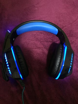 Cascos Gaming con luces Led