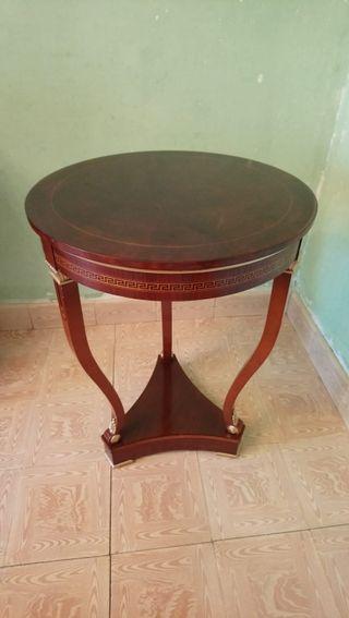 mesa auxiliar, velador Imperio Napoleon