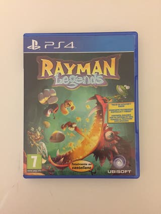Rayman Legends juego ps4