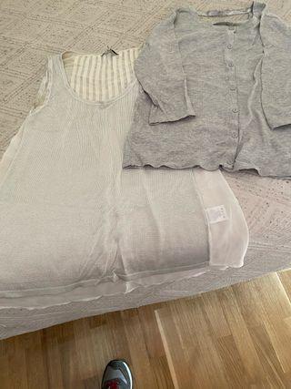 Conjunto de camisa y chaqueta italiano