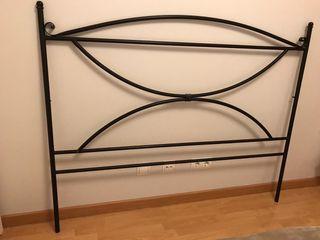 Cabecero cama forja 150