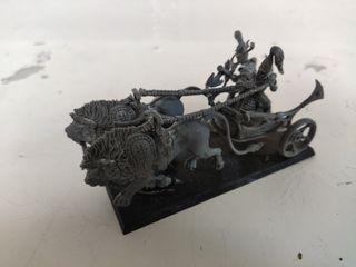 carro leones cracia resina