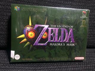 Zelda Majora's Mask - Nuevo - Nintendo 64
