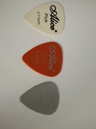 pack púas de guitarra