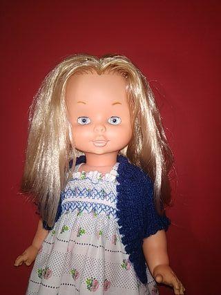 muñeca violeta de famosa años 70