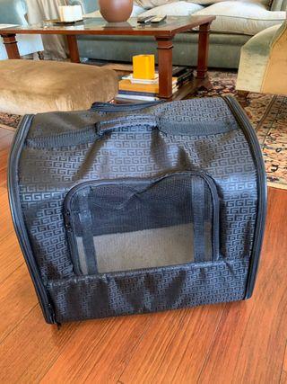 Bolsa de transporte mascotas con ruedas