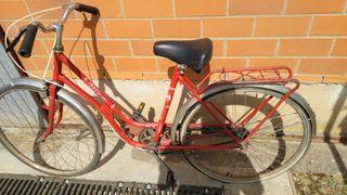 bicicleta de paseo BH antigua