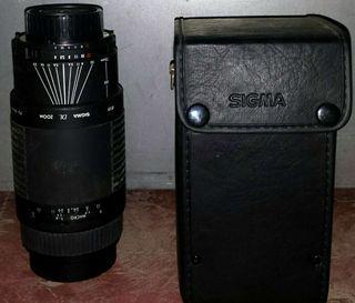 TeleObjetivo Sigma cámara réflex Af 75-300 (Más Imagen y sonido en mi perfil