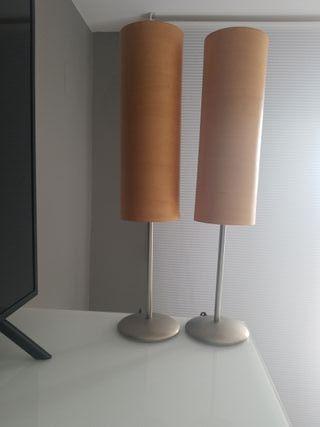 lamparas de madera
