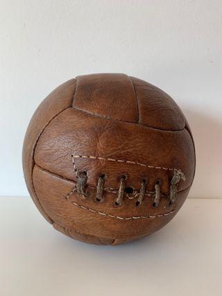 Pelota de fútbol vintage decoración