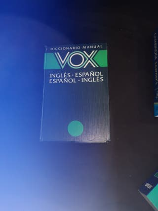 vox diccionario inglés
