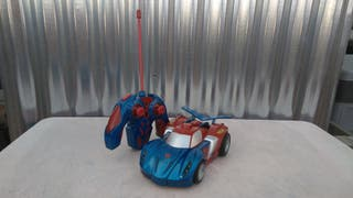 Coche tele dirigido spiderman, majoertte