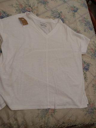 Camiseta Mango algodón orgánico