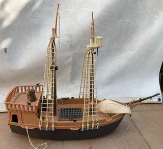 LOTE Barco pirata playmobil + material vario.