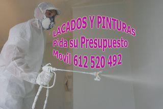 SERVICIOS PINTURAS LACADOS PUERTAS ARMARIOS