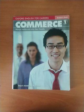 Libro inglés Commerce