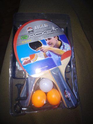 Juego de ping pong.