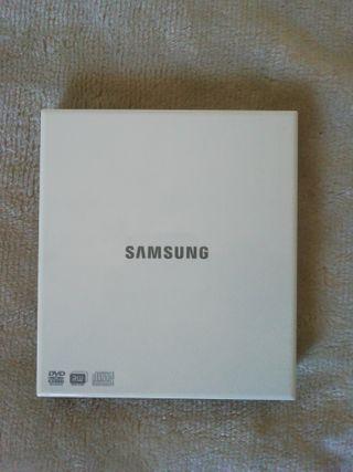 Lector/ grabador de CD/DVD SAMSUNG modelo SE - S08