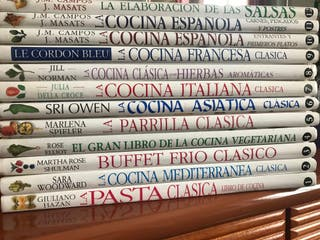 Colección libros de cocina de autor. Editorial DKB
