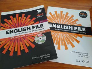 "Libros Inglés ""English File"""