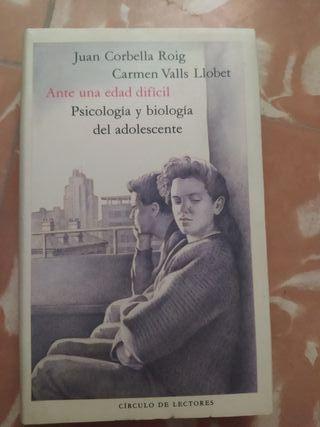 """Libro """"Psicología y biología de un adolescente"""""""