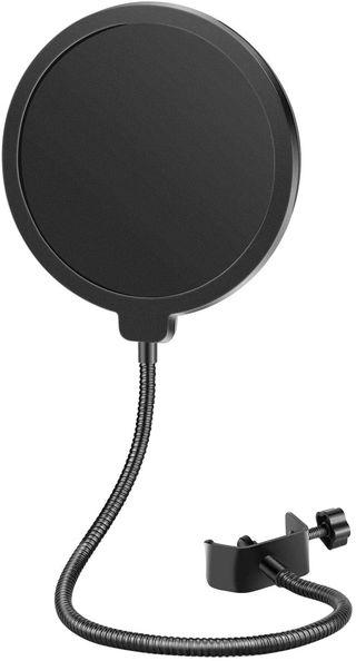 Filtro Pop Micrófono Doble Capa microfono NUEVO