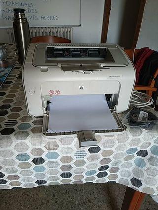 Impresora laser HP monocromo