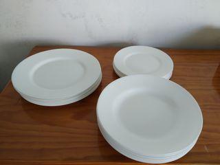 Xogo de pratos (x6)
