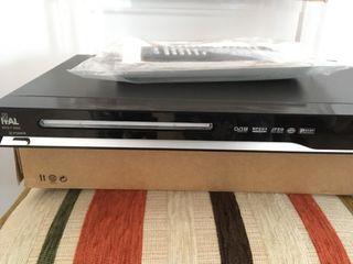 Reproductor DVD y USB con sintonizador TDT
