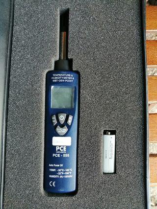 termo higrometro pce-555