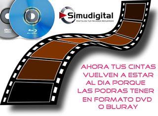 DE CINTA A PENDRIVE O DVD