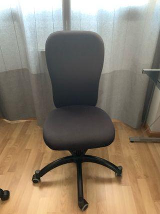 Silla despacho color negro