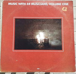 vinilo doble - Music with 58 Musicians, volume one