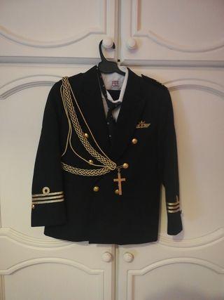 Traje de comunión de almirante, nuevo