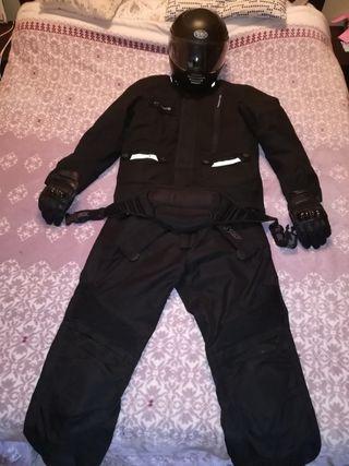 traje para moto de cordura
