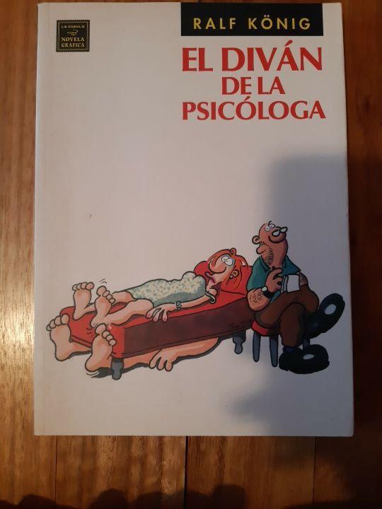 """Cómic """"El diván de la psicóloga"""""""
