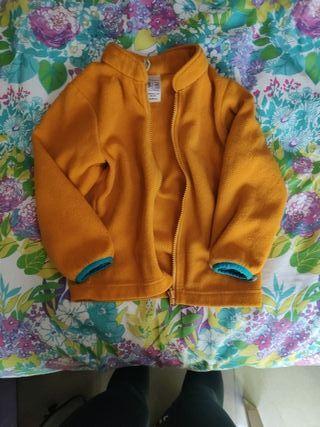 chaqueta polar niñ@ 4años