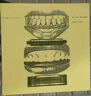 vinilo - Superelvis - en caso de duda Rock'N'Roll