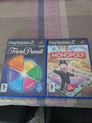 trivial pursuit.. monopoly.. PS2