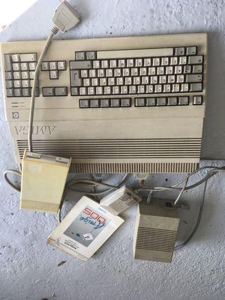 Comodore amiga 500 + disquetera +Sintonizador tv