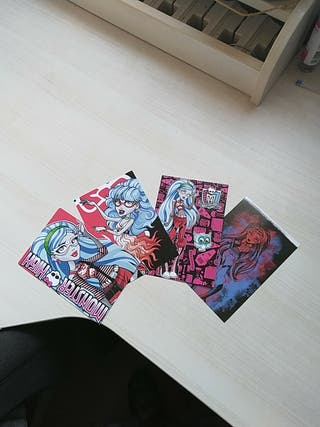 Cartas Ghoulia Yelps