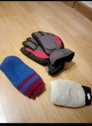 Guantes de Esquiar + Calcetines + regalo