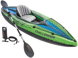 Kayak Hinchable Intex Challenger K1-K2 NUEVO!