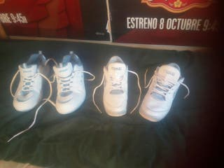 2 PARES DE ZAPATILLAS TALLA 40,NIKE Y SPEED