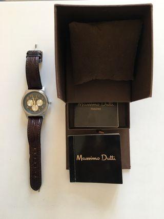 Reloj Massimo Dutti correa cuero