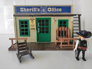 Playmobil Oficina Sherriff